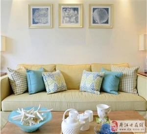 66�O美式两居室 色调清新 风格典雅