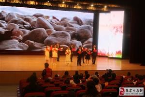 张家川在线受县文旅局委托拍摄第三届中华经典诗文诵读比赛