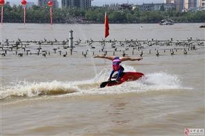 陕西省第二届全民健身运动会在我市开幕