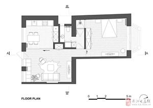 65平米老房改造 简约风小清新