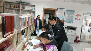 新华社区开展亲子阅读活动