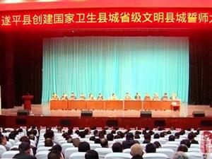 金沙平台网址:再动员,再部署,冲刺国家卫生县城、省级文明县城奋斗目标
