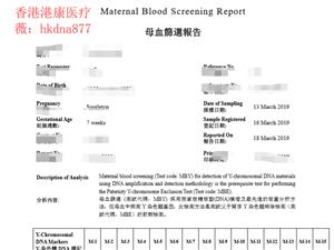 上周去香港�血查男女流程跟大家分享下。