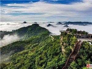 登山欣赏美景,探寻崖壁上的神秘王城