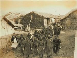 老照片:一段屈辱的历史,侵占望江县城的日本军队
