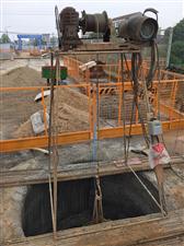 107国道贺站桥危桥改造工程有序推进