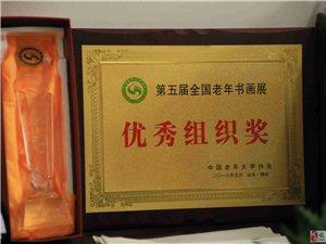 """临泉县举办庆""""五一""""老年书画摄影展"""
