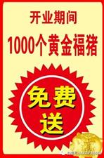 热烈祝贺潢川县宁西路周六福三店5月1号盛大开业!