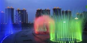 今天開始!音樂噴泉、水幕電影……