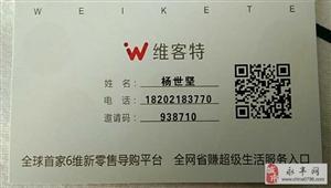 维客特震撼来临――全球首家6维新零售导购平台