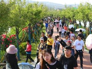 小长假第二天,十万游客闹洽川