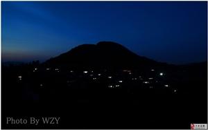 沂蒙山村夜景