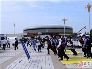 临泉志愿者服务全省地震灾害卫生应急综合演练