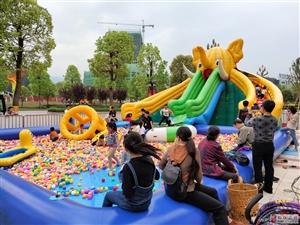 恒大名都奇幻城堡嘉年华掀起五一假期热潮