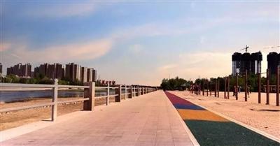 太棒了!莱阳有了专用健身步道!超长路线2500米,以后跑步就来这里!