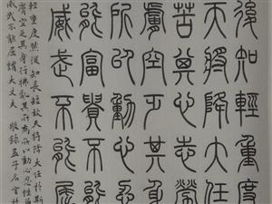 张澜先生书法作品欣赏!
