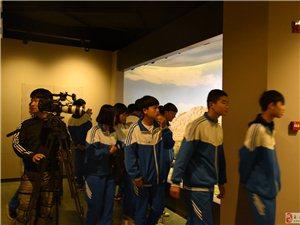 央视科教频道博物馆日拍摄模式进行中