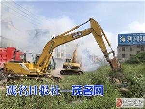 省道S284线化州禾塘岭至市区段路面改造工程今日正式动工建设