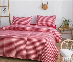 陕西特产苏绘手工织布床单