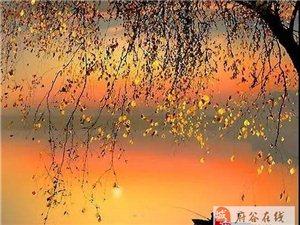 青山依旧在,几度夕阳红!(美到骨子里)