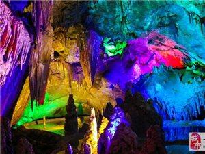 不得不感�@一下猿王洞的自然景�^!