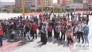 平川区在区人民广场启动科技宣传活动
