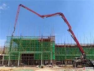 范岗中心幼儿园新建工程进展顺利