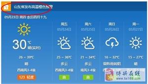 今天外出的要注意啦~今天气温说出来吓死你!都发布高温预警了!