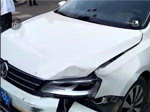 巴彦县一中附近两车相刮肇事,请过往车辆注意绕行!