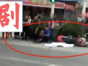 突发!霍邱G105国道龙潭段,12岁男孩遭货车碾压致死!【现场视频】
