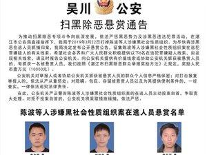 化州一男子涉嫌黑社会性质组织,已投案自首