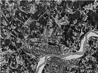 网友曝光!1970年潢川卫星图流出!飞机场还在...