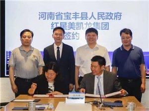宝丰县人民政府与红星美凯龙控股集团举行合作签约仪式