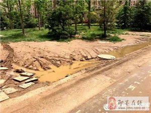植被缺失!道路泥泞!即墨这个小区怎么住?