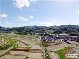 【航拍张家川】山清水秀的马鹿镇金川村,来和小编一起看看它现在的变化
