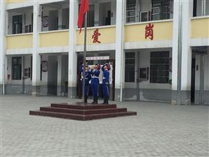踅孜镇胜淮小学课间操比赛暨防溺水宣誓