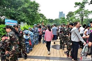 2019年揭西县中英文实验幼稚园欢庆六一梦幻海陆空大型亲子活动