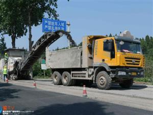 G246线潼南段大修工程有序推进