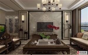 雍锦台140平中式风格