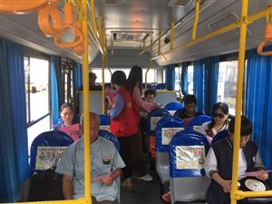 汽车站信息一篇 滑县汽车站开展六五环境日主题宣传活动