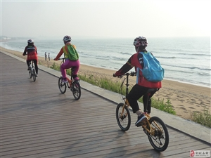 20190602:邹城美利达车友骑行在日照海岸线上!@!!