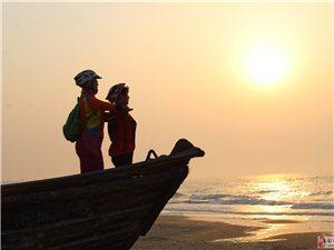 20190602:美利达车友在日照海岸线上观看日出!!!