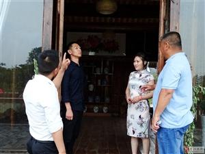 易江居士端午节为曹店民俗文化村捐赠禅书