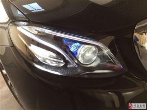 16款奔驰E几何智能大灯旋转高音头几何大灯电吸门车道保持盲点辅助