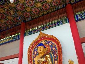遵义市湄潭普陀寺 佛像重启贴金安坐祈福法会