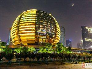 杭州夜景――城市阳台续