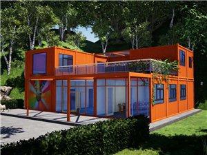 个性集装箱办公室,商铺,休闲娱乐建筑设计,生产建造