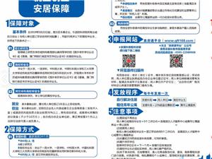 永春县就业创业安居保障
