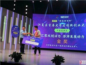 江夏区首届大学生创新创业大赛年度总决赛精彩上演
