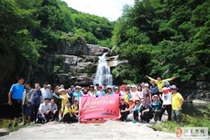 麻城桐枧溯溪�^瀑布